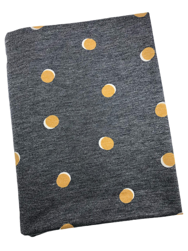 Double dots French terry knit