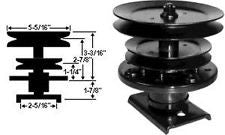 Spindle assembly - Replaces AYP 121657X / 105477X