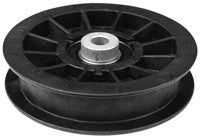 Flat Idler Pulley - Exmark - Replaces OEM  109-3397