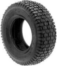 Lawn Mower Tire - Turf Saver Style - 15X600X6 - 4 Ply Tubless