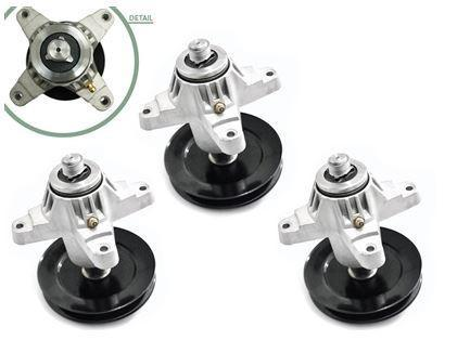 3 PACK Spindle Assembly for MTD Cub Cadet OEM 918-04608A