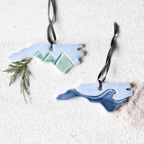 Mountain State Ornament - Made to Order