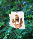 State Cactus Ornament - Made to Order