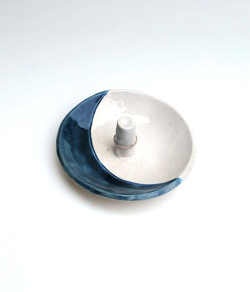 Blue Moon Ring Dish