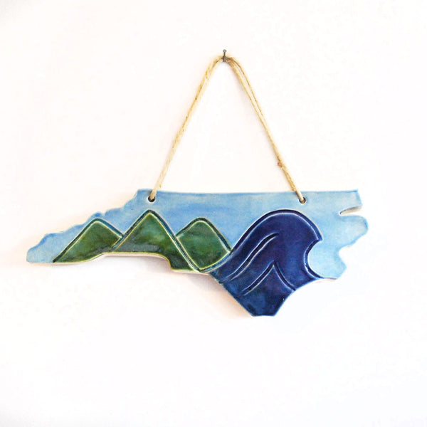 Mountain to the Sea Wall Hanging - Made to Order