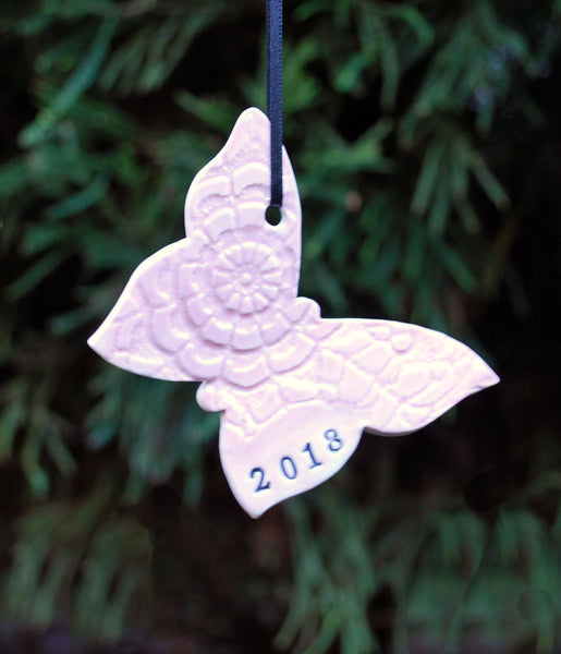 Butterfly Ornament, Personalized