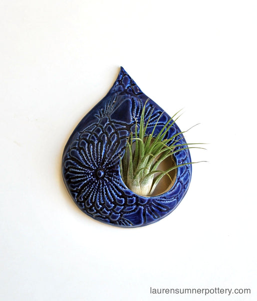 Blue Lace Air Plant Holder - Small