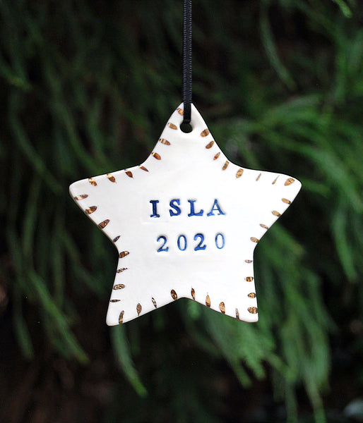 Star Ornament - Personalized
