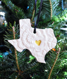 State Ornament - Lace with Heart - Made to Order