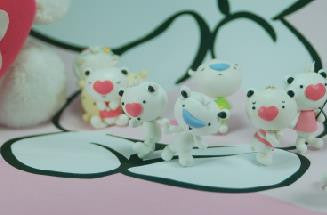 Heart Bear - Cute Character of HeartMade Cosmetics
