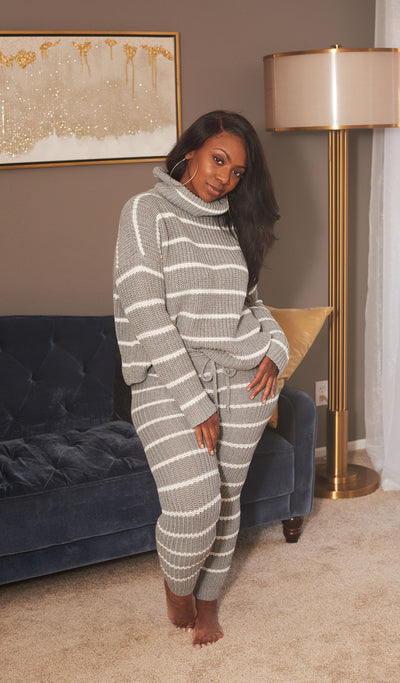 Warm and Fuzzy | knitted Set