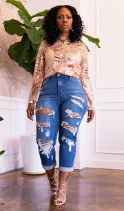 So Torn | Distressed Boyfriend Denim