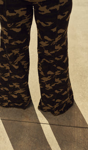 Love and War | Wide Leg Army Fatiuge Pants