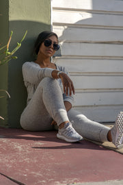 Sporty Chic |  Knit Jogger Jumper