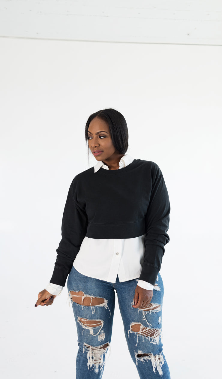 Stormy | Cropped Sweatshirt