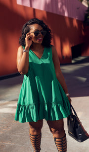Buttercup | Ruffle hem Dress