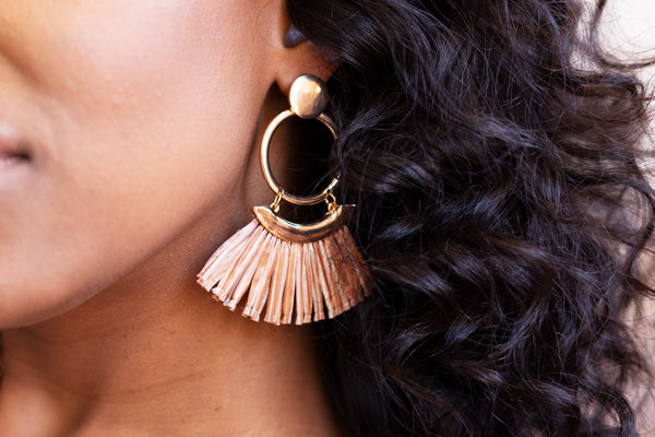 Egyptian | Tassel Earrings
