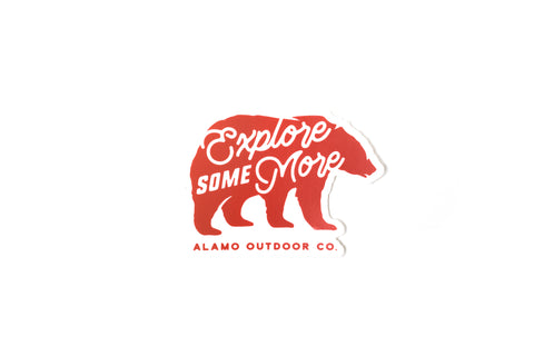 Explore Some More Sticker
