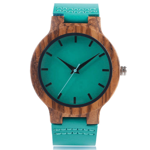 Bamboo watch model Chu-sagi
