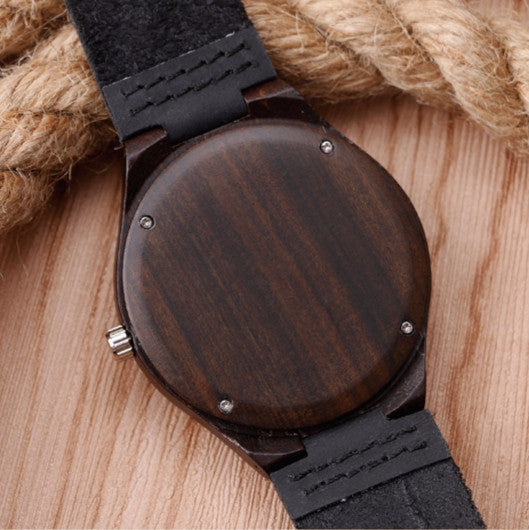 Sport bamboo watch model Chushaku-shigi