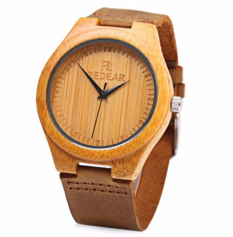 Watch vertical handcrafted pattern