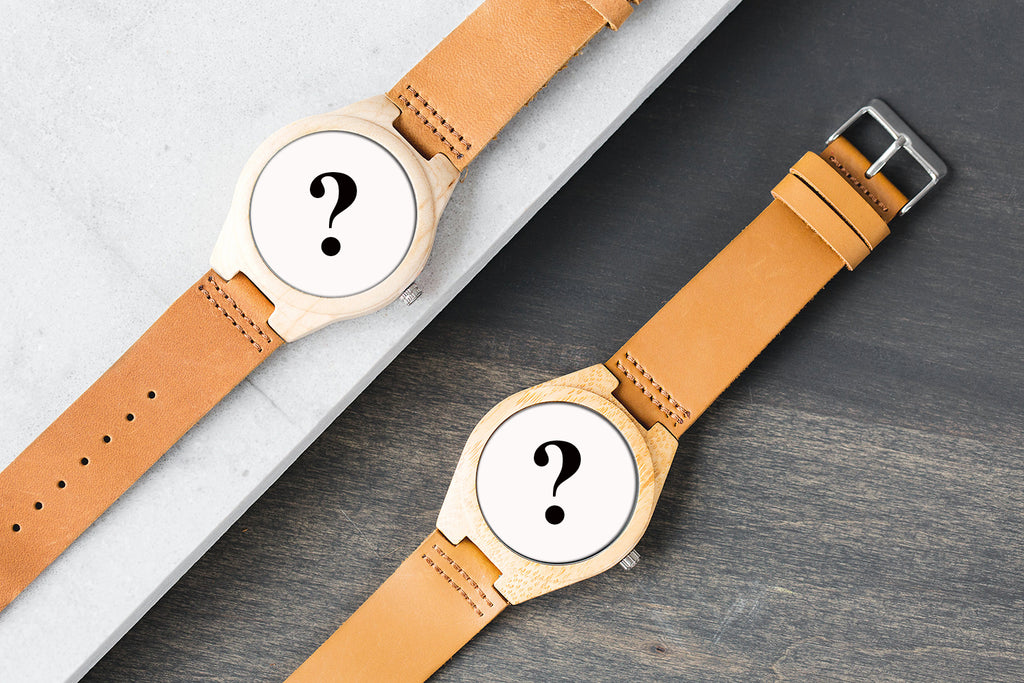 The surprising wood watches for couple !