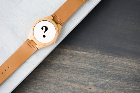 The surprising wood watch !