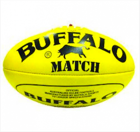 Buffalo Match Leather Size 5 Football