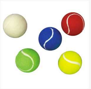Colour Tennis Ball Pack 12 Pack