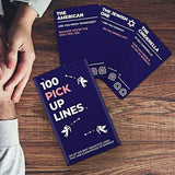 100 Pickup lines card deck by Gift Republic