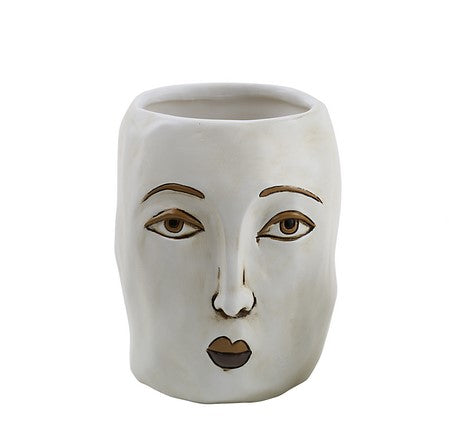 Planter - The modern face by Allen designs
