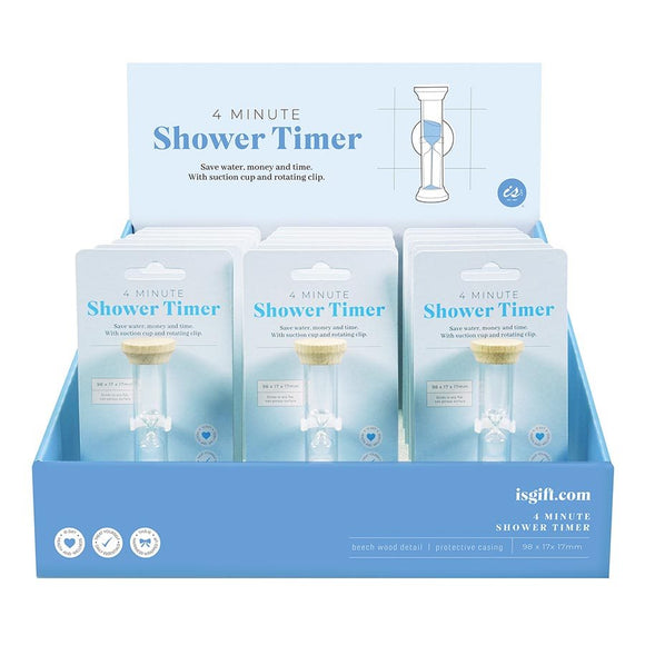 4 minute shower timer by IS GIFT