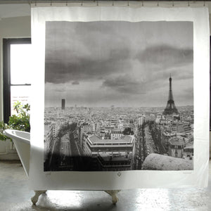Eiffel tower,Paris shower curtain by Izola.