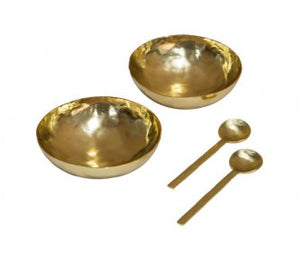 MIDAS 4 piece bowl and spoon set