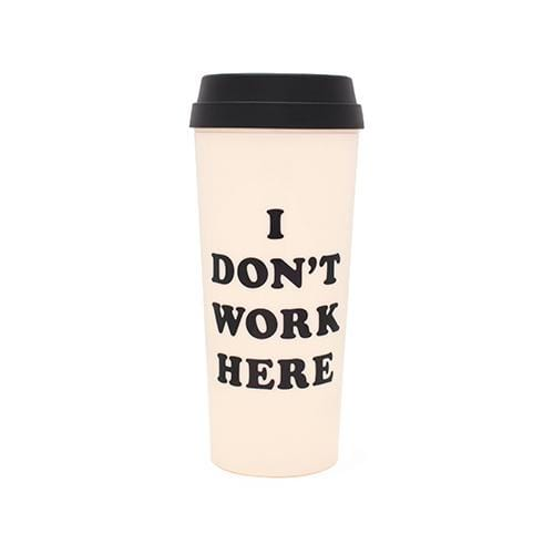 Thermal mug-I dont work here