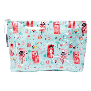 Toiletry/cosmetic bag-Beachbabes by Annabel Trends