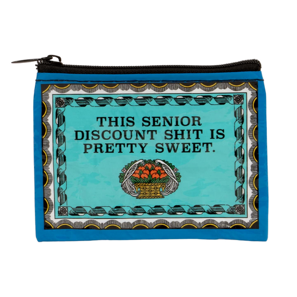 COIN PURSE_Senior discount by BlueQ