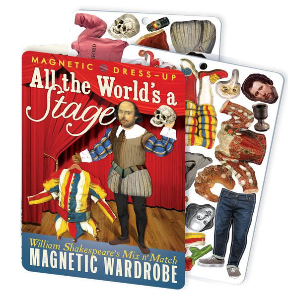 Magnetic Dressup play set-William Shakespeare