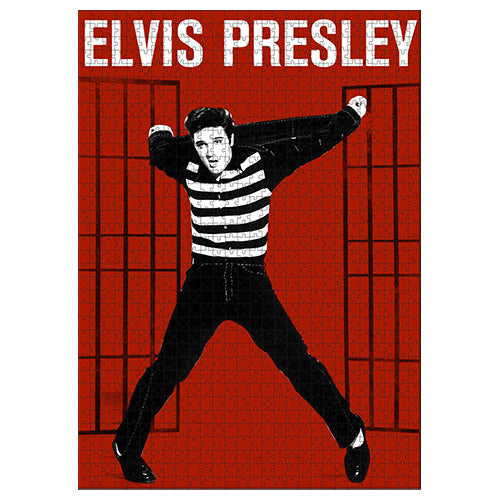Jigsaw Puzzle 1000 piece - Licensed Elvis Presley Jailhouse Rock