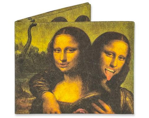 MIGHTY WALLET Mona Lisa twins - Gizmo Gifts
