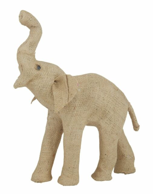 Savanna elephant sculpture small (h)19cm