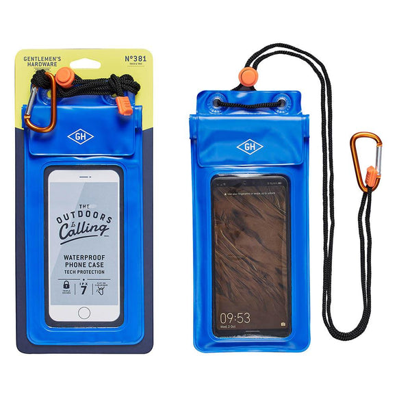 Waterproof phone case sleeve by Gentlemen's Hardware