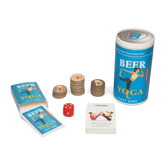 Beer Yoga game by KIKKERLAND
