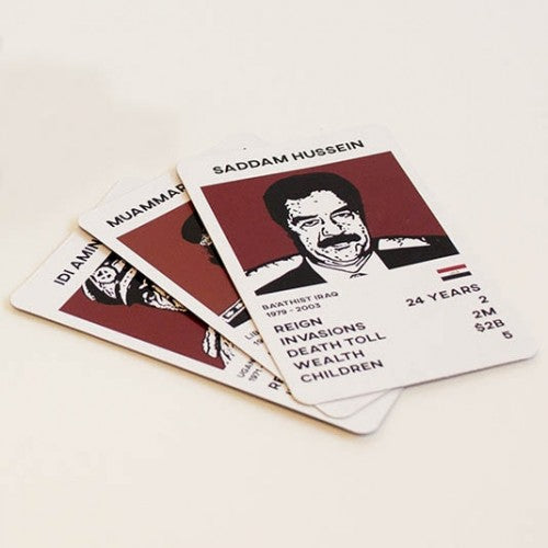 Dictator Trumps card game by Gift Republic