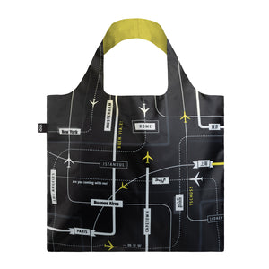 LOQI Shopping bag-Airport departures