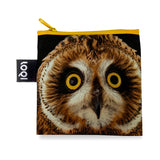 LOQI Shopping Bag - Short Eared Owl (National Geographic)