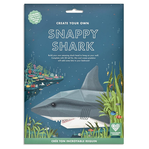 Clockwork Soldier- Create your own snappy shark