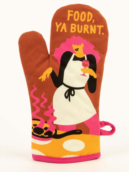 Food, Ya Burnt oven mitt by BlueQ