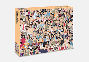 Friends:500 piece jigsaw puzzle