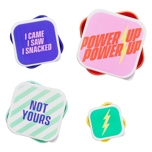 "Snack box set-""Power Up"" by Yes Studio"